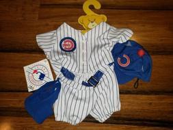 New Build A Bear Chicago cubs Basebal Uniform Jersey Stadium