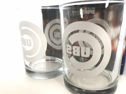 NEW Chicago Cubs Collector Set Of Rocks Glasses 12oz Pair BR