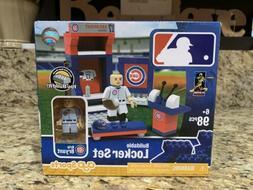 NEW Chicago Cubs Kris Bryant Lego Brick MLB Locker Room Set
