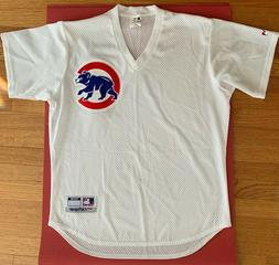 NEW Chicago Cubs MLB V-NECK SUMMER net football style jersey