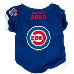 NEW CHICAGO CUBS PET DOG BASEBALL JERSEY ALTERNATE STYLE ALL