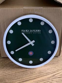 NEW Chicago Cubs Wrigley Field Scoreboard Wall Clock 9 inch