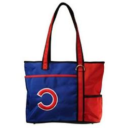 New MLB Carryall Tote Bag Purse Licensed CHICAGO CUBS gift E