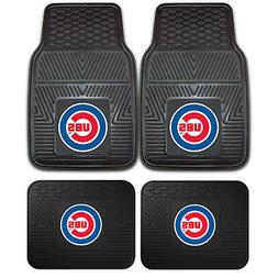 New MLB Chicago Cubs Car Truck Front Rear Rubber Heavy duty