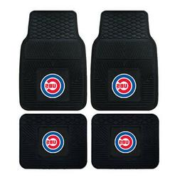 New MLB Chicago Cubs Car Truck Front Back Rubber All Weather