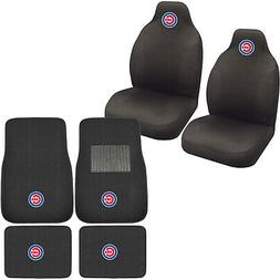 New MLB Chicago Cubs Car Truck Seat Covers & Front Back Carp