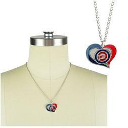 New MLB Chicago Cubs Fashion Jewelry Swirl Heart Charm Penda