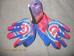 NIP Chicago Cubs Winter Football Gloves Tech Glove Touchscre