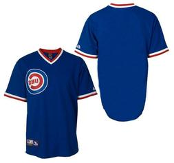 NWT Chicago Cubs Majestic Big & Tall Cooperstown Men's Repli