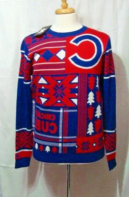 NWT Chicago Cubs Ugly Christmas Pullover Sweater MLB  by  *K