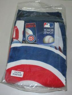 NWT MLB Chicago Cubs Bath Towel - 28 x 58 New - McArthur Tow