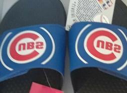 NWT Foco Mlb Mens L 11-12 US BIG Logo Flip Flops Sandals Chi