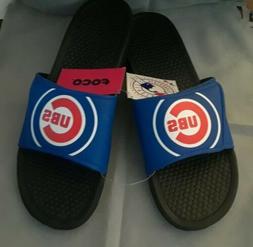 NWT Foco Mlb Mens XL 13/14 US BIG Logo Flip Flops Sandals Ch