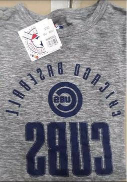 Official MLB Chicago Cubs Adult Men's Tee T-Shirt Size L