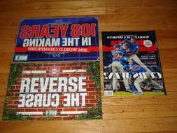 RARE SET DICK'S CHICAGO CUBS WORLD SERIES MIDNIGHT BANNER SI