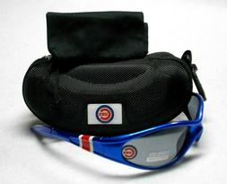 Read Listing! Chicago Cubs XL LOGO on Royal HEADHUGGER Sungl