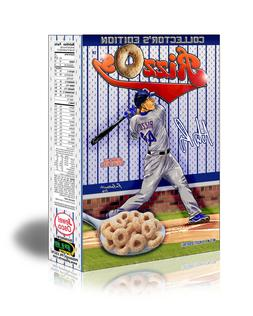 RizzOs  Cereal - Chicago Cubs, NEW SEALED box. Mint. Ships F