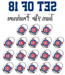 Set of 18 Chicago Cubs Team Helmet Car Vehicle Room Cave Air