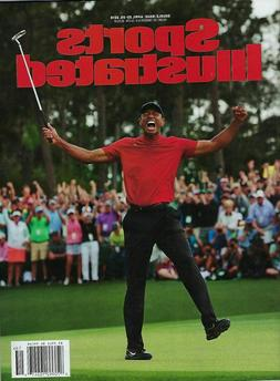 Sports Illustrated April 2019 Tiger Woods MASTERS WIN - Golf