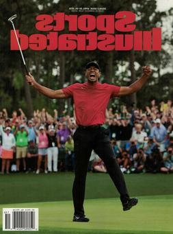 Sports Illustrated April 29, 2019 - Tiger Woods - Historic M