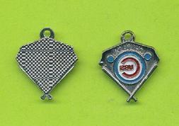 Stylish Chicago Cubs Dangle Charm  For Bracelet Necklace Etc