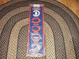 THE CHICAGO CUBS MLB HERITAGE WOOL DECOR BANNER