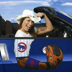 Too Cool! New Chicago Cubs Auto Car Arm Magnet S166
