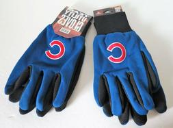 TWO   PAIR OF CHICAGO CUBS, SPORT UTILITY GLOVES FROM FOREVE