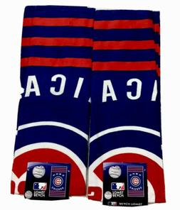 """Two Chicago Cubs Beach Towels Bundled One Price NWT 30"""" x"""