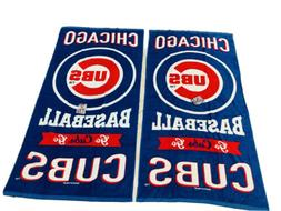 Two Vibrant Chicago Cubs Beach Towels NWT Authentic Wincraft