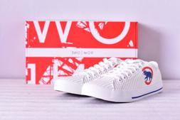 Unisex Row One MLB Chicago Cubs Logo Jersey Lace Up Shoes, W