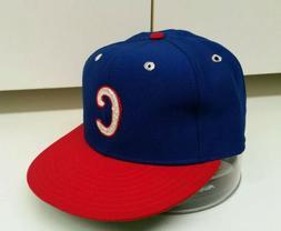 Vintage Chicago Cubs 7 1/4 New Era Pro Model DuPont Visor Ha
