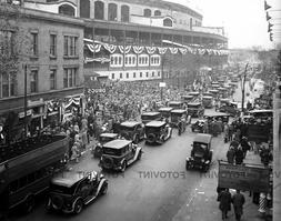 WRIGLEY FIELD Photo Picture 1929 CHICAGO CUBS WORLD SERIES P
