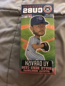 yu darvish south bend cubs bobblehead from